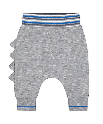 Mothercare Fashion Blue Dinosaur Roar Joggers