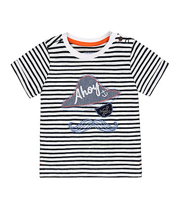 Mothercare Pirate Striped T-Shirt