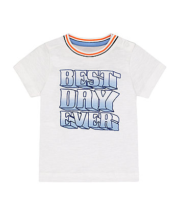 Mothercare Best Day Ever T-Shirt