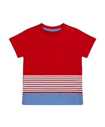 Mothercare Multi-Stripe T-Shirt