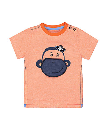 Mothercare Monkey Lift-The-Flap T-Shirt