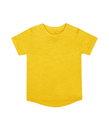Mothercare Yellow T-Shirt