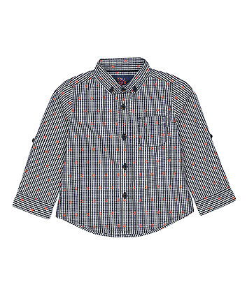 Mothercare Navy Anchor Shirt