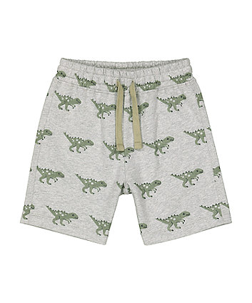 Mothercare Fashion Grey Dinosaur Shorts