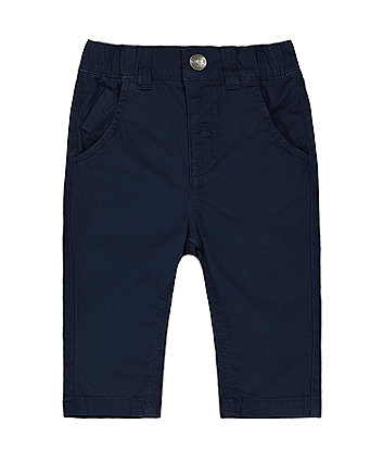 Mothercare Fashion Navy Smart Trousers