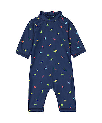 Mothercare Navy Dinosaur Sunsafe