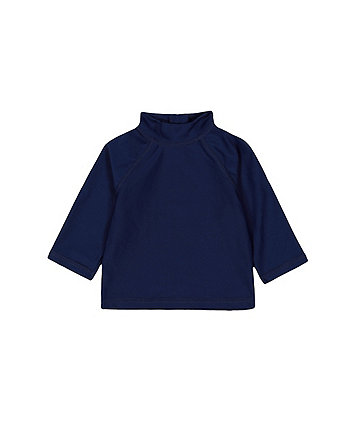 Mothercare Navy Sunsafe Rash Vest