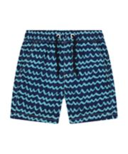 Mothercare Navy Waves Board Shorts