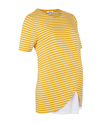 Mothercare Mustard Wrap-Hem Nursing Top