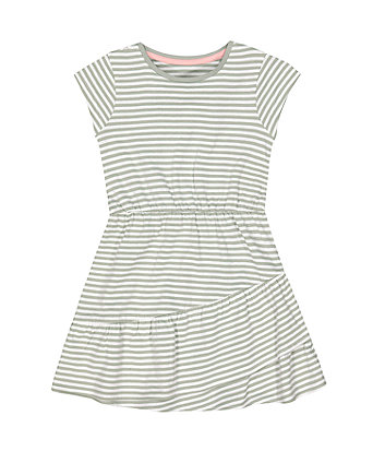 Mothercare Sage-Green Jersey Dress