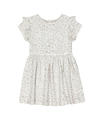Mothercare Grey Leopard-Print Dress