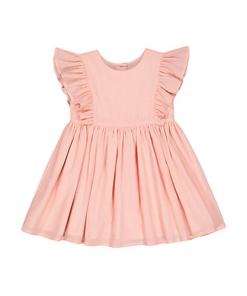 Mothercare Pink Mesh Dress