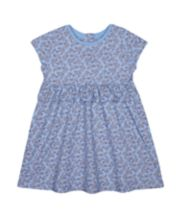 Mothercare Fashion Blue Floral Dress