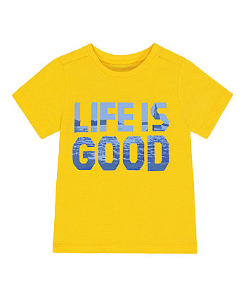 Mothercare Life Is Good T-Shirt