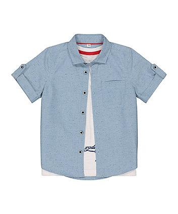 Mothercare Dinosaur T-Shirt And Shirt Set