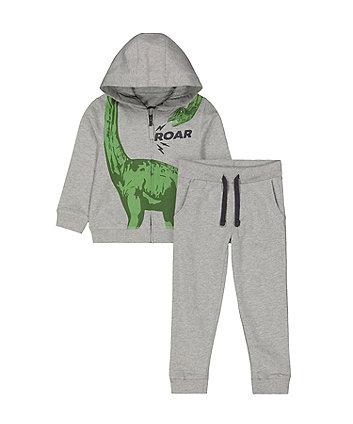 Mothercare Grey Dinosaur Jog Set