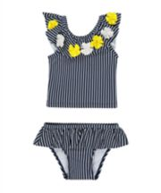 Mothercare Navy Striped Tankini
