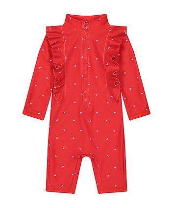 Mothercare Heart Print Sunsafe