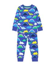 Mothercare Blue Dinosaur Pyjamas