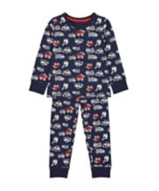 Mothercare Navy Vehicle Pyjamas