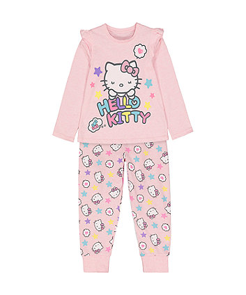 Mothercare Hello Kitty Pink Pyjamas