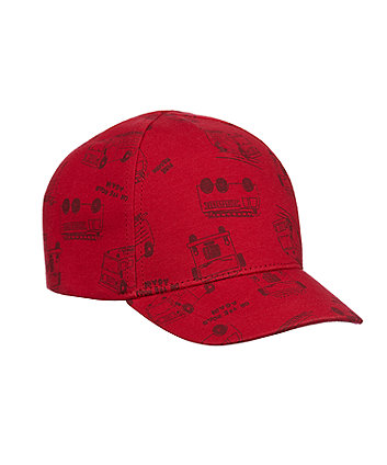 Mothercare Fire Engine Cap