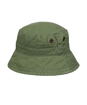 Mothercare Fashion Khaki Twill Fishmerman Sun Hat