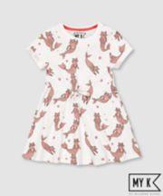 Mothercare Fashion My K Leopard-Mermaid Dress