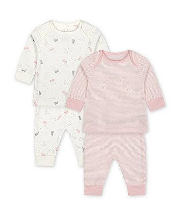 Mothercare My First Bunny Pyjamas - 2 Pack