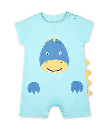 Mothercare Fashion Dinosaur Novelty Romper