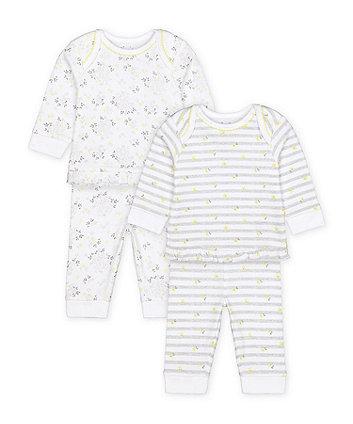 Mothercare Fashion Floral Pyjamas - 2 Pack