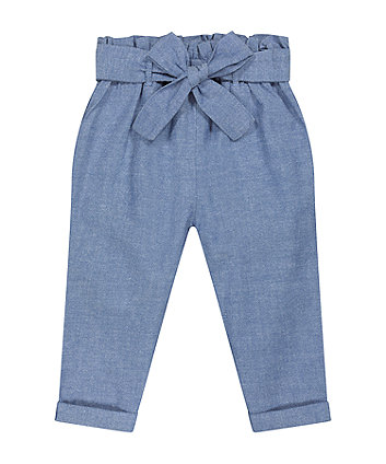 Blue Chambray Trousers [SS21]