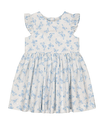 Mothercare Butterfly Woven Dress