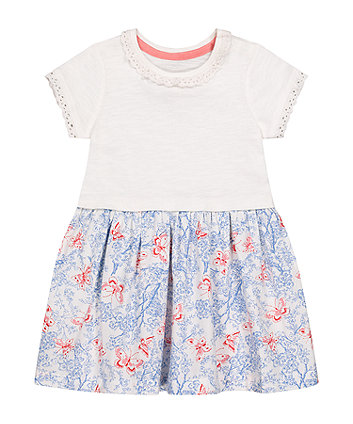 Mothercare Butterfly Twofer Dress