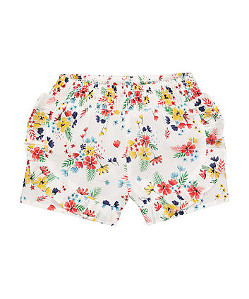 Mothercare Floral Frill Shorts