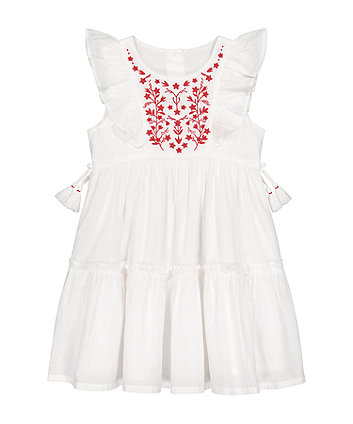 White Embroidered Dress [SS21]