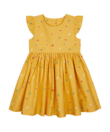 Yellow Floral Dress [SS21]