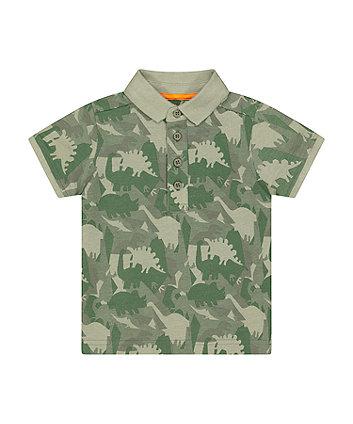 Mothercare Dinosaur Camo Polo Shirt