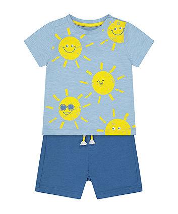 Mothercare Fashion Sunshine T-Shirt And Shorts Set