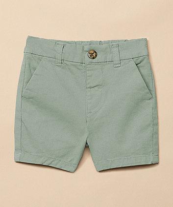 Green Twill Shorts [SS21]