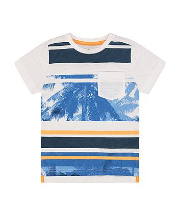 Striped Palm Tree T-Shirt [SS21]