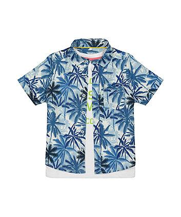 Palm Shirt And T-Shirt Set [SS21]
