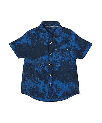 Blue Tie-Dye Shirt [SS21]