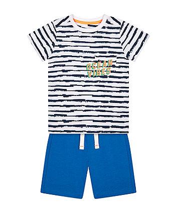 Ocean Vibes T-Shirt And Shorts Set [SS21]