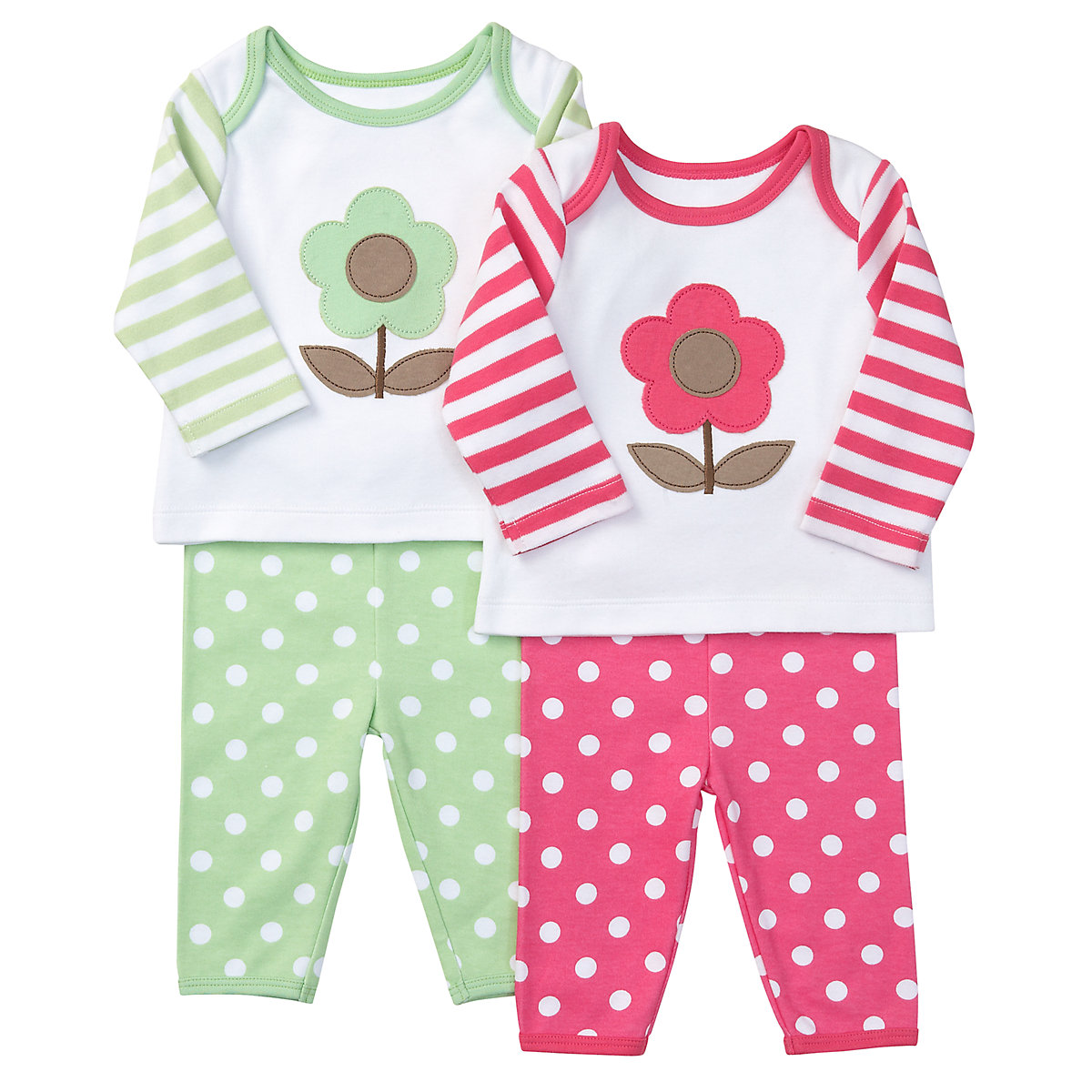 2 pack girls bright spot PJ