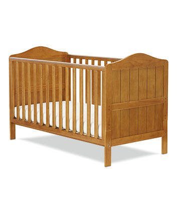 Mothercare Darlington Cot Bed (Antique) + Free Mattress