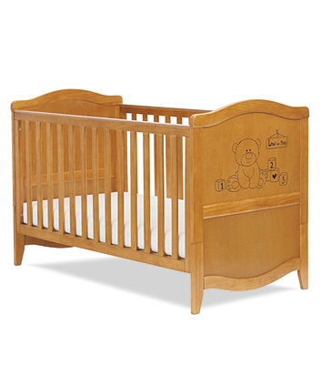 Mothercare Loved So Much Cot Bed - Antique