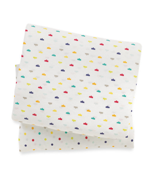 Mothercare I Love Sunshine Fitted Cot Sheets 2 Pack