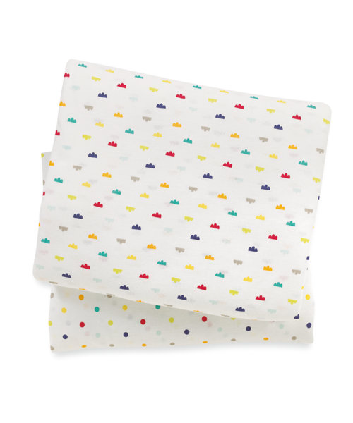 Mothercare I Love Sunshine Fitted Cot Bed Sheets 2 Pack