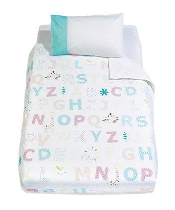 Mothercare I Love Sunshine Cot Bed Duvet Cover and Pillowcase